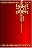 Oriental baground design Royalty Free Stock Image