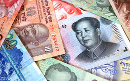 Oriental Banknotes stock photos