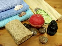 Oriental bath Stock Images