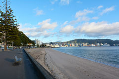 Oriental Bay Wellington New Zealand Royalty Free Stock Photos