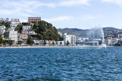 Oriental Bay, Wellington Royalty Free Stock Photography