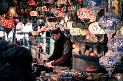 Oriental bazaar Stock Photo