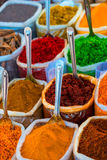Oriental Bazaar with different spices Stock Photography