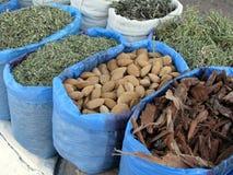 Oriental bazaar foods - herbs Royalty Free Stock Image