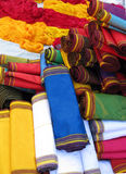 Oriental bazaar objects - ketene fabrics Stock Photos