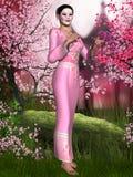 Oriental Beauty Stock Photos