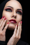 Oriental beauty Stock Photography