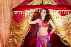 Oriental Beauty dancing Stock Photos
