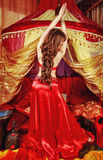 Oriental Beauty dancing Royalty Free Stock Photo