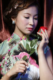 Oriental beauty Stock Images