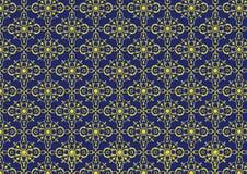 oriental bezszwowy deseniowy Zdjęcie Royalty Free