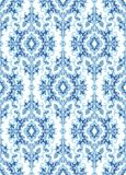 Oriental blue ornament. Stock Images