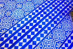 Oriental Blue and White Pattern royalty free stock photography