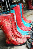 Oriental boots Royalty Free Stock Image