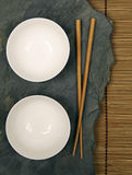 Oriental bowls Royalty Free Stock Photography