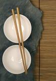 Oriental bowls Stock Photo