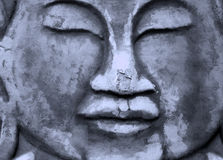 Oriental buddha face Stock Photos