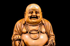 Oriental Buddist Statue Isolated Stock Photography