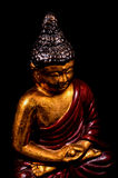 Oriental Buddist Statue Isolated Royalty Free Stock Photos