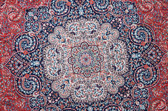 Oriental carpet Royalty Free Stock Image
