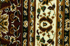 Oriental carpet macro Stock Image