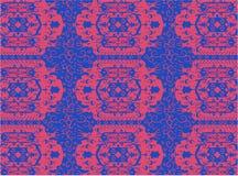 Oriental carpet ornament vector royalty free illustration