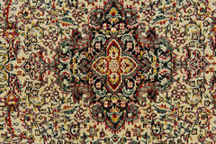Oriental carpet texture Royalty Free Stock Photos