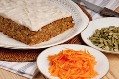 Oriental carrot cake Royalty Free Stock Photography