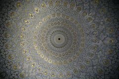 Oriental ceiling Stock Photo