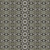 Oriental Check Ornate Seamless Pattern Royalty Free Stock Photos