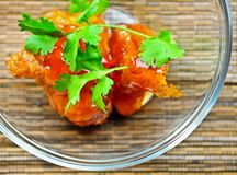 Oriental Chicken Royalty Free Stock Images