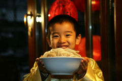 Oriental Child in Festival Stock Photography