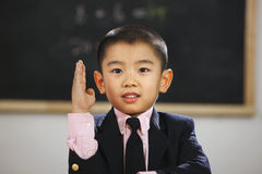Oriental Children in the classroom Royalty Free Stock Photos