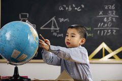Oriental Children in the classroom Stock Image