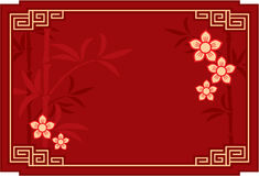 Oriental Chinese Background. Oriental Chinese Template Background Including Vector Format royalty free illustration