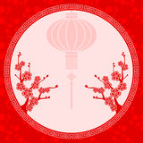 Oriental Chinese Lantern Illustration royalty free illustration