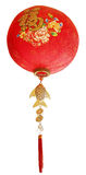 Oriental Chinese new year ornaments for decoration on white back Royalty Free Stock Photography