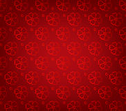 Oriental Chinese New Year pattern background Royalty Free Stock Image