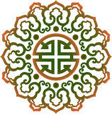 Oriental chinese ornament, asian traditional pattern, Stock Image