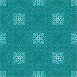 Oriental Chinese Seamless Tile. Including Vector Format stock illustration