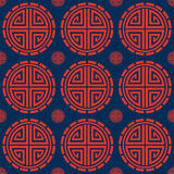 Oriental Circle Pattern Stock Image