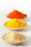 Oriental colorful mix of spices Stock Photo