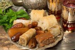 Oriental cookies Stock Images