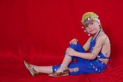 Oriental costume Stock Images