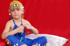 Oriental costume Royalty Free Stock Images