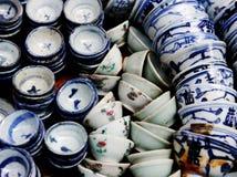 Oriental crockery Royalty Free Stock Image