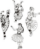 Oriental dance Royalty Free Stock Images