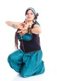 Oriental dancer Stock Photos