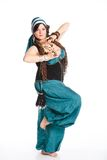 Oriental dancer Stock Images
