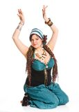 Oriental dancer Stock Photo